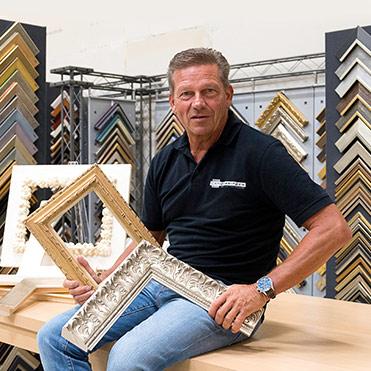 Jan Gerritsen in de studio